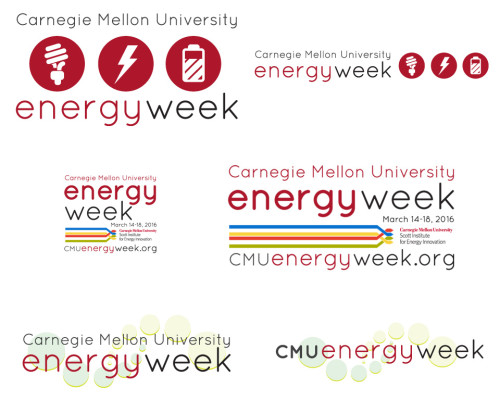 Event logo iterations